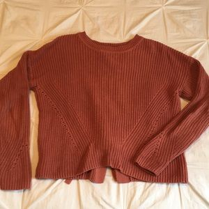 Lucky brand cropped sweater